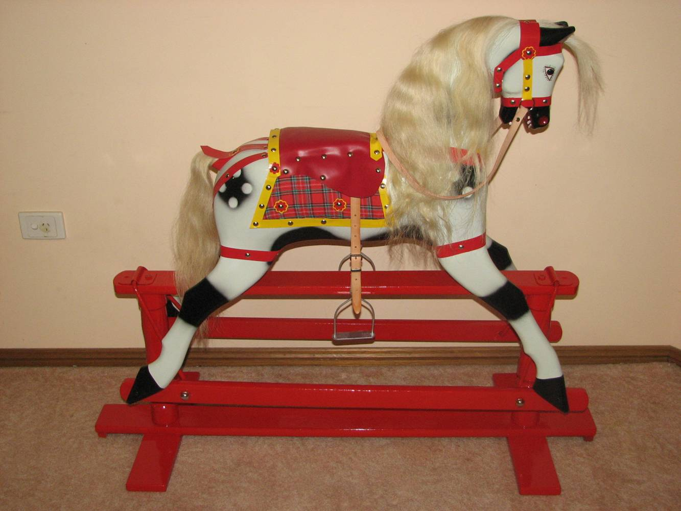 how to restore a rocking horse kit