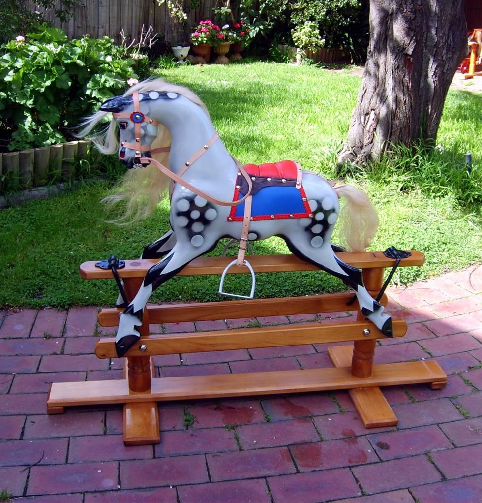 rocking horse playhouse plans