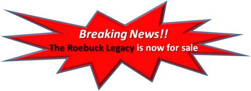 Roebuck Legacy For sale