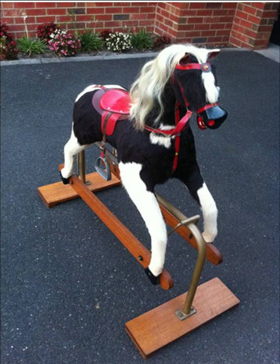 How Do I Tell If A Rocking Horse Is Victorian Antique Or
