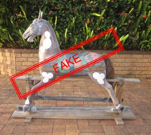 how to gesso a rocking horse